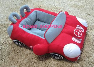 Warm Fashion Pet Dog Cat Pet Car Bed House Kennel Sofa Best Gift