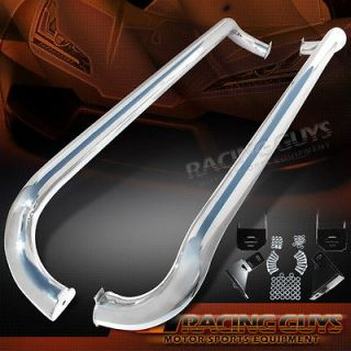 CHROME SUV NERF BARS SET RUNNING BOARDS PAIR MECEDES BENZ SIDE STEP