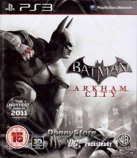 batman arkham city ps3 in Video Games & Consoles