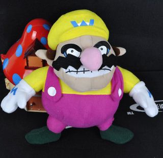 listed New Super Mario Wario Soft Stuffed Plush Doll Toy 11 inches BB