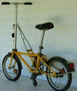 VINTAGE DAHON FOLDING BICYCLE, BIKE, MADE IN CALIFORNIA U.S.A.