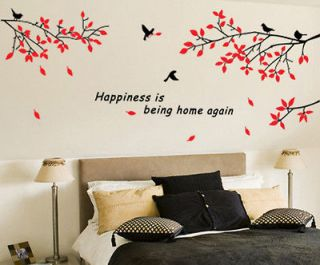 Wall Decor Art Vinyl Removable Mural Decal Sticker Trees Branches