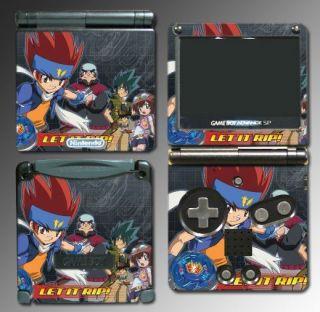 Metal Fury Masters 4D Ginka Game Skin 6 for Nintendo Game Boy GBA SP