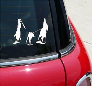 ROPING ROPE RODEO HORSE COWBOY GRAPHIC DECAL STICKER VINYL CAR WALL