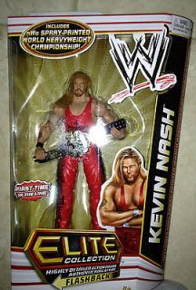 WWE KEVIN NASH Elite 16 WCW Outsiders w/ nWo Championship Belt