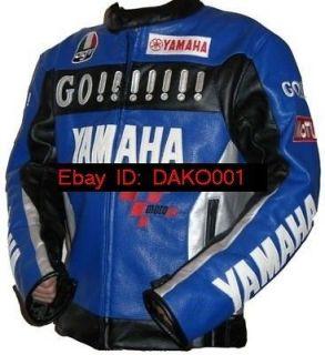 Motor Racing Yamaha Leather Jacket M XXL NEW Duhan Topup Waterproof