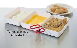 Progressive Perfect Breading Preperation Trays   Trays Lock Together