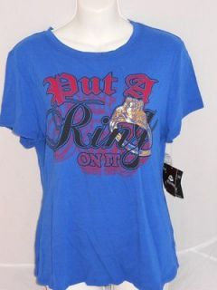 PUT A RING ON IT Shirt DEREON/BEYONCE Line SIZE 1X NWOTS Queen of