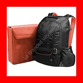 18 INCH WATER RESISTANT LAPTOP BACKPACK W/ XBOX 360 PS3 WII SLEEVE