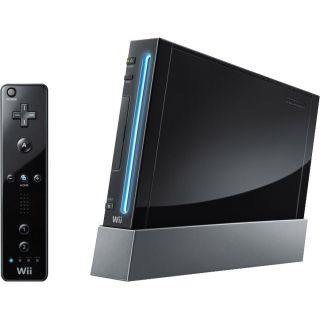 Nintendo Wii Black Console (NTSC)