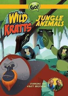 WILD KRATTS: JUNGLE ANIMALS   NEW DVD