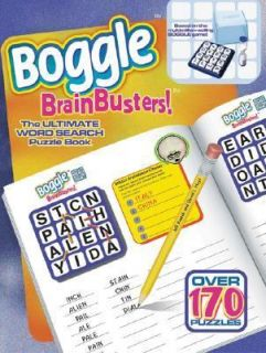 Boggle Brainbusters The Ultimate Word Search Puzzle Book by David L