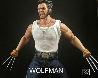 Hot 1/6 Toys Box Wolfman Chris Wolverine DX DUTCH Bane Two Face Joker