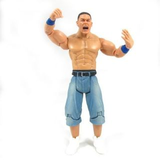 Newly listed 01YE WWE WWF Wrestling John Cena figure + champion belt