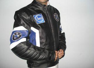 MEN BMW Motorcycle Leather Jacket Motorbike Leather Jacket Biker
