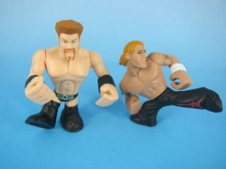 wwe rumblers shawn michaels in Action Figures