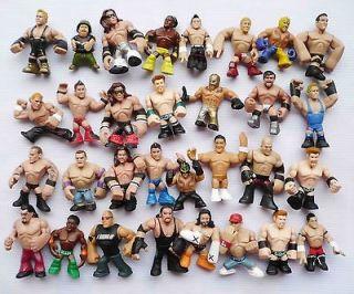 LOT OF 8 MATTEL WWE Wrestling RUMBLERS ACTION FIGURE Style by random