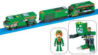 TOMY PLARAIL HYPER GUARDIAN MECHADICK LINE​R HGS 05 MOTORIZED TRAIN