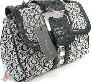 guess black and white purse in Handbags & Purses
