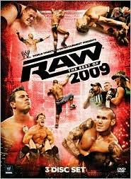 WWE Raw   The Best of 2009 DVD, 2010, 3 Disc Set