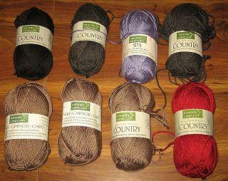 caron country yarn in Yarn