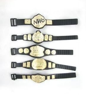 Lot of 5 5 WWE Wrestling Champion Belt For Figure