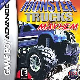 Monster Trucks Mayhem 2006 Nintendo Game Boy Advance, 2006