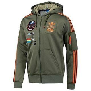 Adidas Originals Star Wars X Wing Hooded Flock XL Track Top Jacket