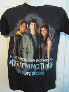 Hot Topic Percy Jackson & The Olympians TOUR 2010 T Shirt Size Small