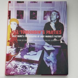 ANDY WARHOL VELVET UNDERGROUND BILLY NAME BOOK 1ST EDITION HARD COVER