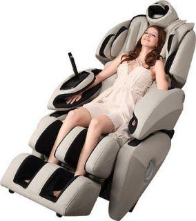 BRAND NEW Fujita KN9003 Zero Gravity Massage Chair   French Grey