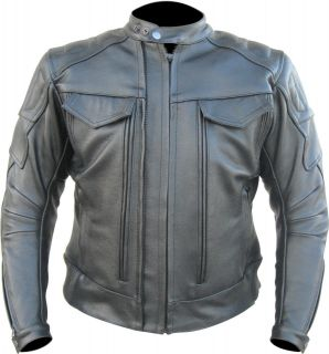 Vintage Motorcycle Cheap Leather Jackets for Mens Street Bike Riders