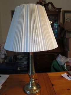 Beautiful Vintage Mid Century Solid Brass Stiffel Desk Table Lamp