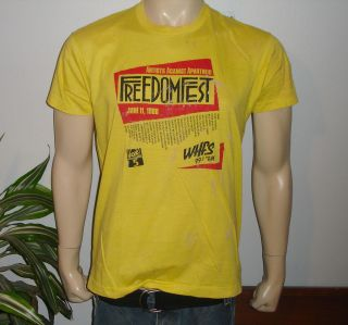 RaRe *1988 FREEDOM FEST* vtg concert shirt (XL) 80s Al Green