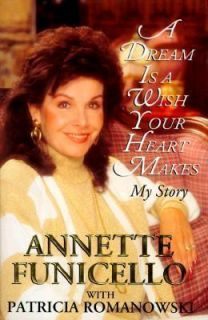 IS A WISH YOUR HEART MAKES MY STORY, Annette Funicello, Good Book