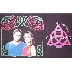 Charmed TV Show Lovers Leo and Piper P3 T Shirt, XXL