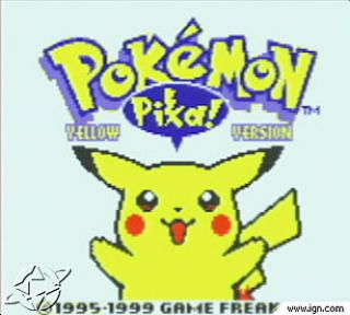 Pokemon Yellow Special Pikachu Edition Nintendo Game Boy, 1998