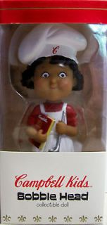 Kids Soup Bobble Head Collectable Doll African American Girl NIB