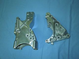 03 04 Chevy Vortec engine air / power / alter, brackets alu polished