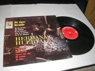 Hermanas Huerta No Sigas Llorando LP Caytronics CYS 1149 VG In Shrink