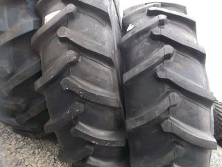 TWO 18.4x38, 18.4 38 CASE IH 9130 Farm Tractor Tires 8 Ply