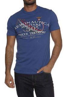 Aeronautica Militare Mens T Shirt Shirt Graphic Tee NEW