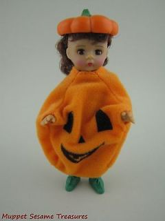 McDonalds Madame Alexander HALLOWEEN PUMPKIN COSTUME DOLL 2003