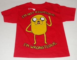 ADVENTURE TIME JAKE T SHIRT SIZE BOYS 10 12 14 16 NWT