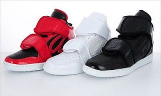 Men Casual High Top Sneakers Shoes Trainer Red/Black/White US7~10