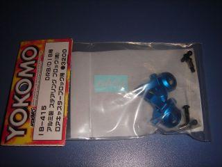 Yokomo DRB&DIB Aluminum Steering Block/For Lower Caster Block/Blue (IB