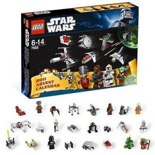 LEGO 7958 STAR WARS ADVENT CALENDAR 2011 BRAND NEW discontinued
