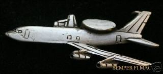 3A Sentry AWACS US AIR FORCE HAT LAPEL PIN