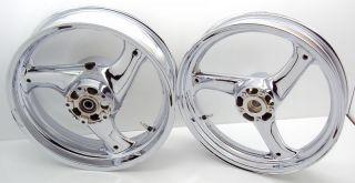 rf 600r chrome wheels motorcycle wheels accessories chrome rims hub