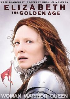 Elizabeth The Golden Age DVD, 2008